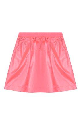 Детская юбка KENZO розового цвета, арт. KQ27018 | Фото 1