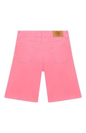 Детские джинсовые шорты KENZO розового цвета, арт. KQ26008 | Фото 2