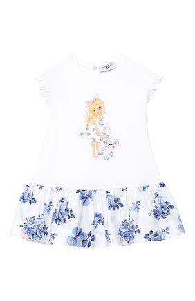 Женский платье MONNALISA голубого цвета, арт. 315903SA | Фото 1