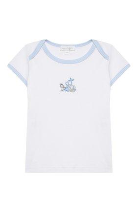 Детский комплект из топа и шорт MAGNOLIA BABY голубого цвета, арт. 649-102-LB | Фото 2