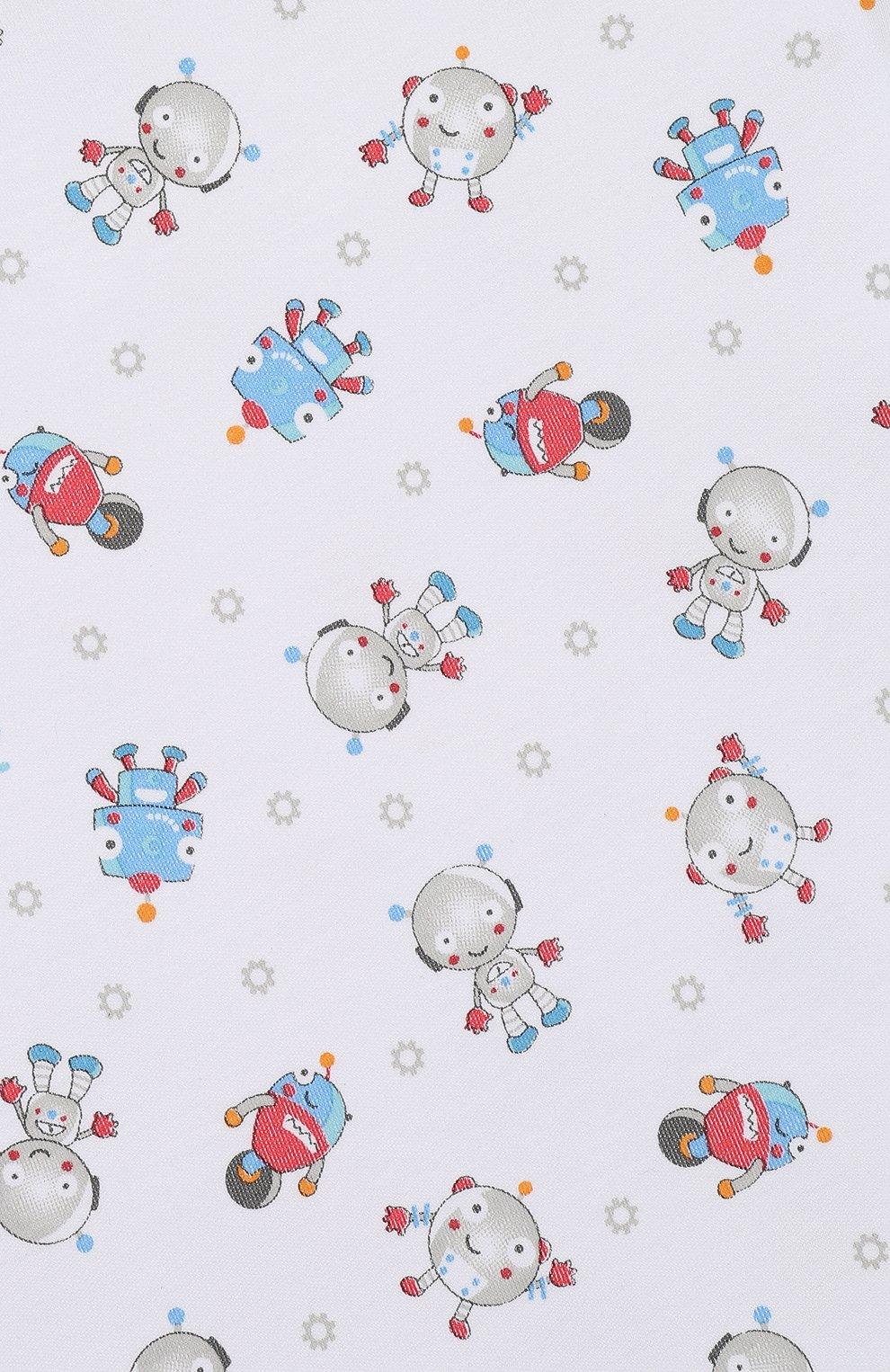 Детский хлопковая пижама MAGNOLIA BABY голубого цвета, арт. 896-SP-LB | Фото 6