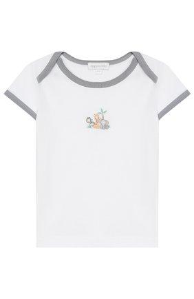 Детский хлопковая пижама MAGNOLIA BABY серого цвета, арт. 649-102-SV | Фото 2