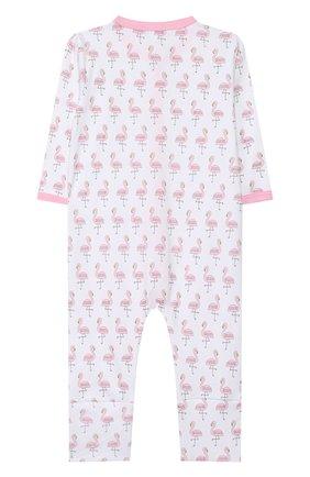 Детский хлопковый комбинезон MAGNOLIA BABY розового цвета, арт. 891-805P-PK | Фото 2