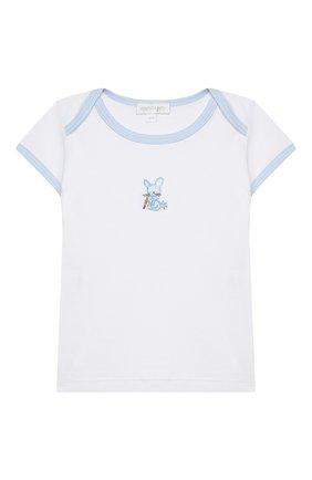 Детский комплект из топа и шорт MAGNOLIA BABY голубого цвета, арт. 755-102-LB | Фото 2