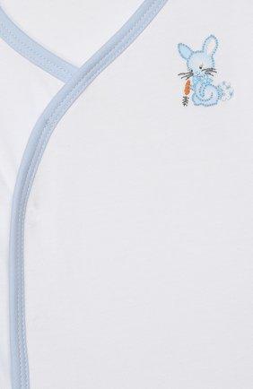 Детский комплект из распашонки и ползунков MAGNOLIA BABY голубого цвета, арт. 755-734P-LB | Фото 6