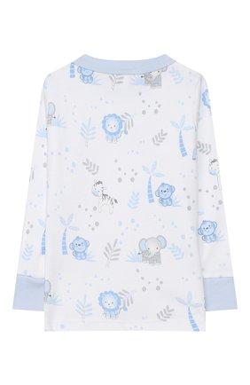 Детский хлопковая пижама MAGNOLIA BABY голубого цвета, арт. 649-LP-LB | Фото 3
