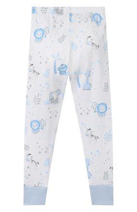 Детский хлопковая пижама MAGNOLIA BABY голубого цвета, арт. 649-LP-LB | Фото 5