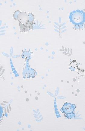 Детский хлопковая пижама MAGNOLIA BABY голубого цвета, арт. 649-LP-LB | Фото 6