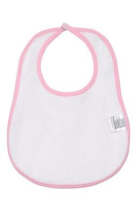Детский нагрудник MAGNOLIA BABY розового цвета, арт. 891-51P-PK   Фото 2