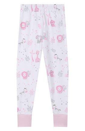 Детский хлопковая пижама MAGNOLIA BABY розового цвета, арт. 649-LP-PK   Фото 4