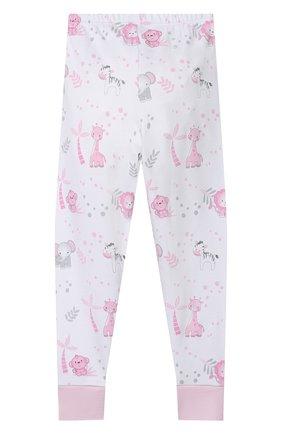 Детский хлопковая пижама MAGNOLIA BABY розового цвета, арт. 649-LP-PK   Фото 5