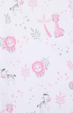 Детский хлопковая пижама MAGNOLIA BABY розового цвета, арт. 649-LP-PK   Фото 6