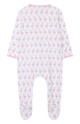 Детский хлопковый комбинезон MAGNOLIA BABY розового цвета, арт. 891-402P-PK | Фото 2