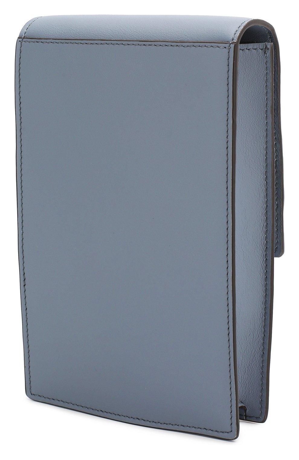 Женская сумка kan i mini FENDI голубого цвета, арт. 8M0436 A5DY   Фото 3