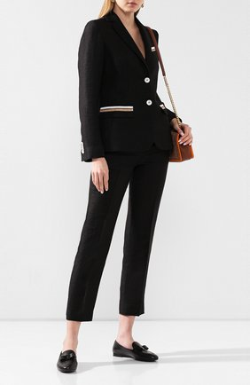 Женские кожаные лоферы SALVATORE FERRAGAMO черного цвета, арт. Z-07246771C | Фото 2