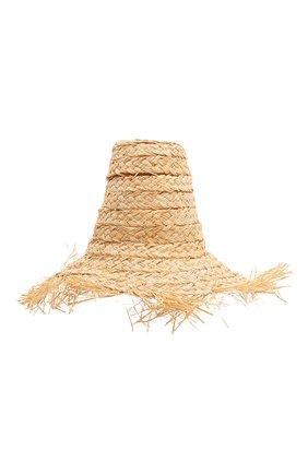 Женская соломенная шляпа banu hat CULT GAIA бежевого цвета, арт. 14010ST TAN | Фото 1