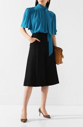 Женская кожаные туфли romy 60 JIMMY CHOO коричневого цвета, арт. R0MY 60/L0P | Фото 2