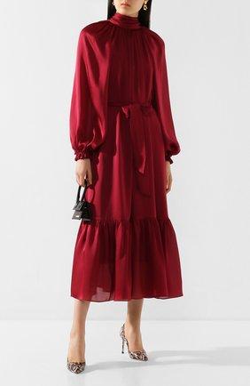Женская кожаные туфли romy 85 JIMMY CHOO светло-розового цвета, арт. R0MY 85/YDE | Фото 2