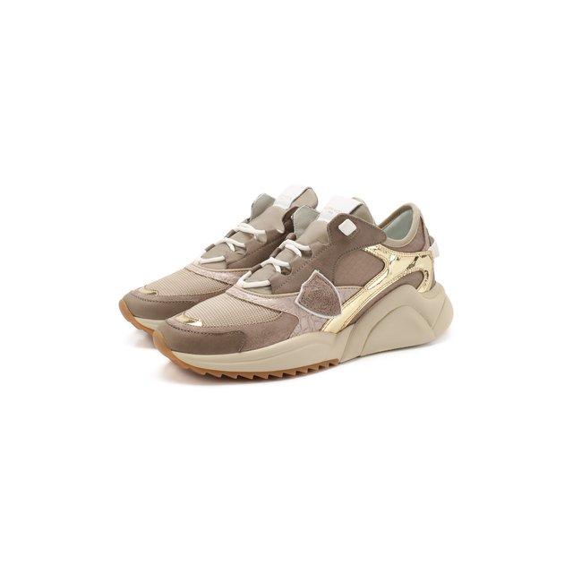 Кожаные кроссовки Philippe Model — Кожаные кроссовки