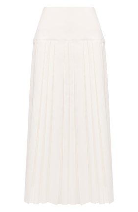 Женская юбка-миди THE ROW белого цвета, арт. 4958W1749 | Фото 1
