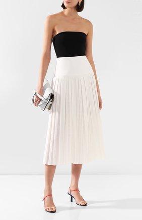 Женская юбка-миди THE ROW белого цвета, арт. 4958W1749 | Фото 2