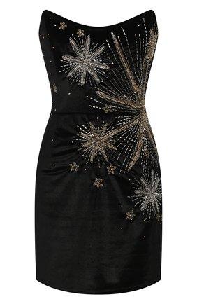 Женское мини-платье RETROFÊTE черного цвета, арт. HL20-2515   Фото 1