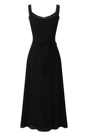 Женское платье TEREKHOV GIRL черного цвета, арт. 2D134/4082.900/S20 | Фото 1