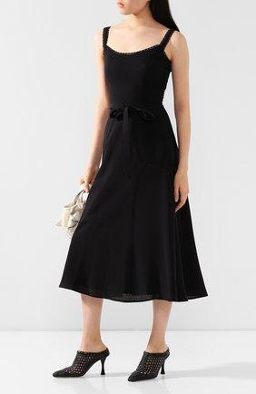 Женское платье TEREKHOV GIRL черного цвета, арт. 2D134/4082.900/S20 | Фото 2