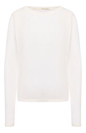 Женская пуловер  ISABEL BENENATO белого цвета, арт. DJ05S20 | Фото 1