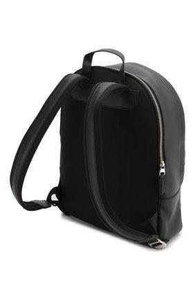 Мужской кожаный рюкзак DUNHILL черного цвета, арт. DU19F3720AR | Фото 3