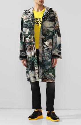 Мужские кожаные кроссовки HARRYS OF LONDON желтого цвета, арт. 43110322297/S0FT NAPPA | Фото 2