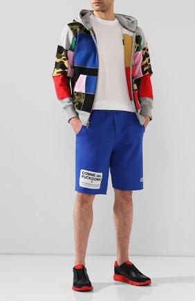 Мужские кожаные кроссовки HARRYS OF LONDON красного цвета, арт. 43140322296/S0FT NAPPA | Фото 2