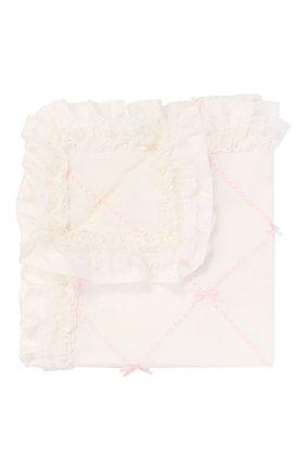 Детского хлопковое одеяло ALETTA бежевого цвета, арт. RD00101SL   Фото 1
