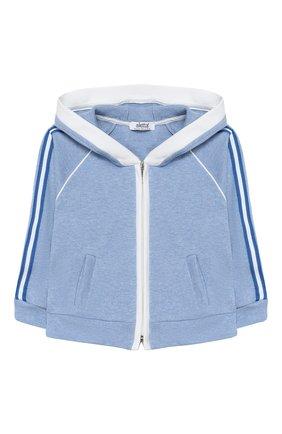 Детский комплект из толстовки и брюк ALETTA голубого цвета, арт. RE00398/3A-6A | Фото 2