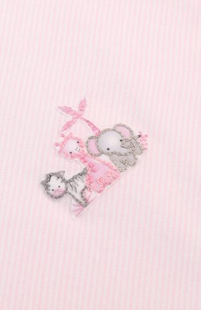 Детского хлопковое одеяло MAGNOLIA BABY розового цвета, арт. 649-62-PK   Фото 2
