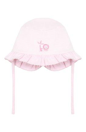 Детская хлопковая шапка MAGNOLIA BABY розового цвета, арт. 649-63-PK | Фото 1