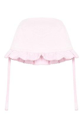 Детская хлопковая шапка MAGNOLIA BABY розового цвета, арт. 649-63-PK | Фото 2