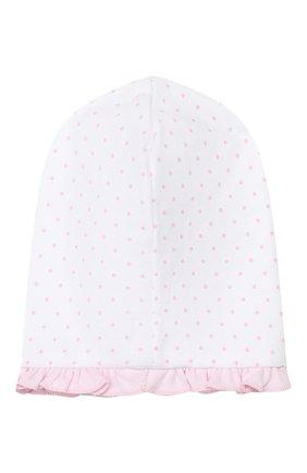 Детского хлопковая шапка MAGNOLIA BABY розового цвета, арт. 755-60-PK | Фото 2