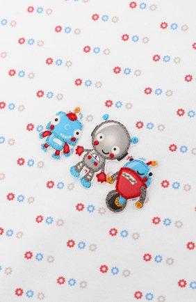 Детского хлопковое одеяло MAGNOLIA BABY голубого цвета, арт. 896-52-LB | Фото 2