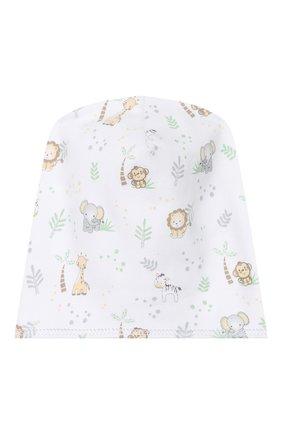 Детского хлопковая шапка MAGNOLIA BABY серого цвета, арт. 649-50P-SV | Фото 1