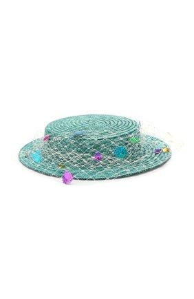 Детская шляпа EIRENE голубого цвета, арт. H242. | Фото 1