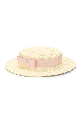 Детская шляпа EIRENE белого цвета, арт. H244. | Фото 2