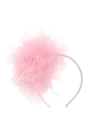 Детского ободок EIRENE розового цвета, арт. H215. | Фото 1