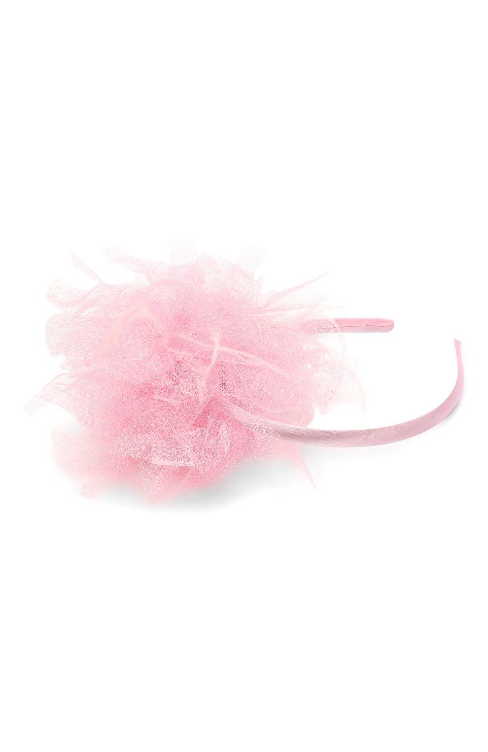 Детского ободок EIRENE розового цвета, арт. H215. | Фото 2
