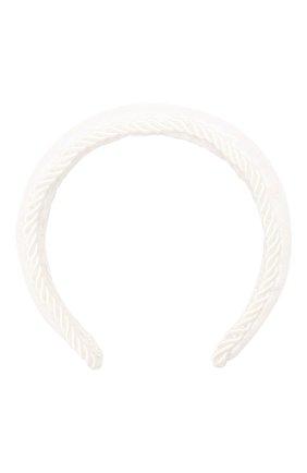 Детского ободок EIRENE белого цвета, арт. H219. | Фото 1