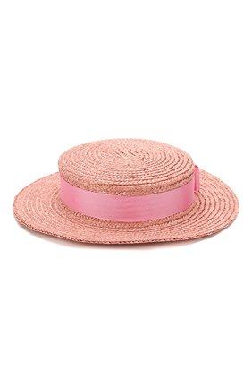 Детская шляпа EIRENE розового цвета, арт. H236. | Фото 1