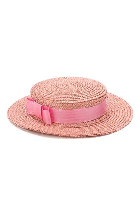 Детская шляпа EIRENE розового цвета, арт. H236. | Фото 2
