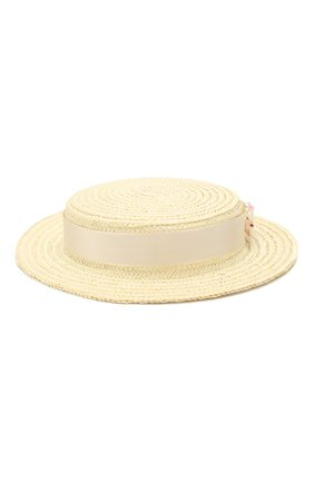 Детская шляпа EIRENE белого цвета, арт. H229. | Фото 1