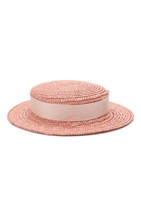 Детская шляпа EIRENE розового цвета, арт. H214. | Фото 1