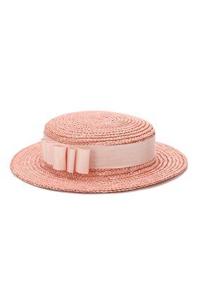 Детская шляпа EIRENE розового цвета, арт. H214. | Фото 2
